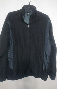 Starter Mens Navy Sky Lined Windbreaker L